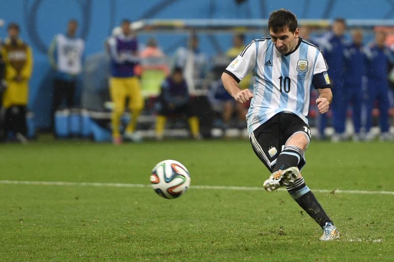 Lionel Messi en juillet 2014