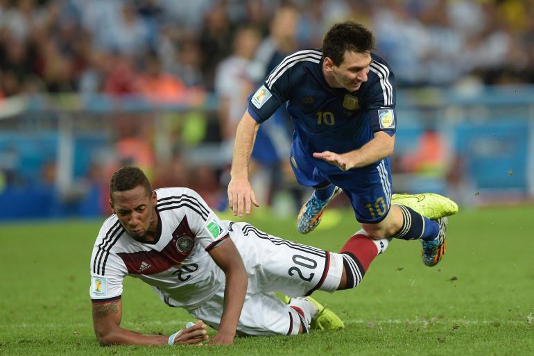 Le match Allemagne-Argentine en finale de la Coupe du monde, le 13 juillet 2014