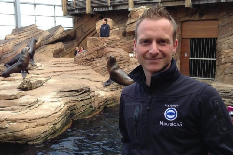 William Gournay est soigneur de lions de mer depuis 15 ans
