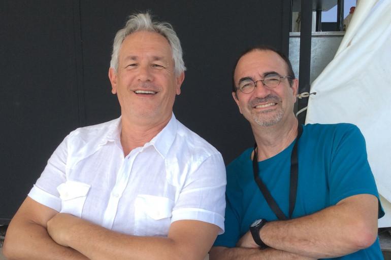 Jean-René Palacio et Jean-Yves Chaperon à Juan dimanche 13 juillet 2014