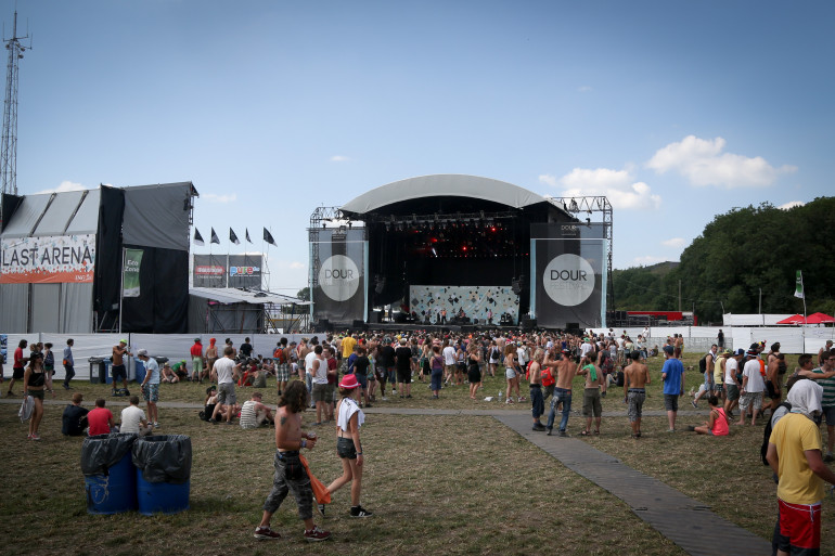 L'édition 2014 du Dour festival se déroule du 17 au 20 juillet