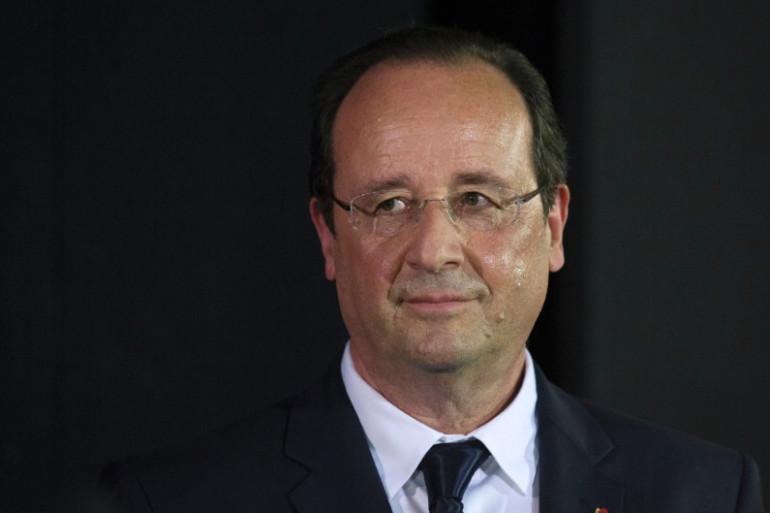 François Hollande à Paris, le 18 juin 2014