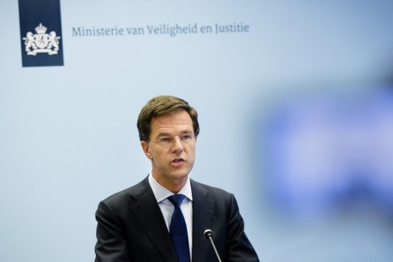 Le Premier ministre néerlandais Mark Rutte à La Haye, le 22 juillet 2014.