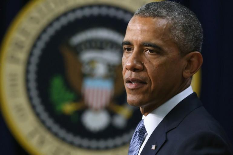 Barack Obama à Washington, le 22 juillet 2014.