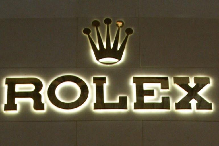 Le logo de l'horloger Rolex