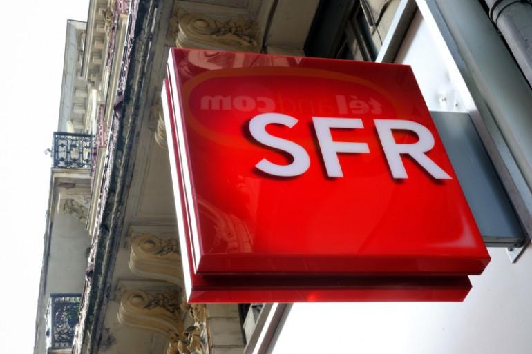 Le logo de SFR. (archives)