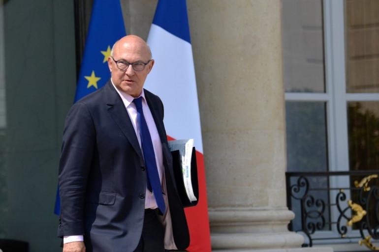 Michel Sapin à l'Élysée, le 23 juillet 2014.