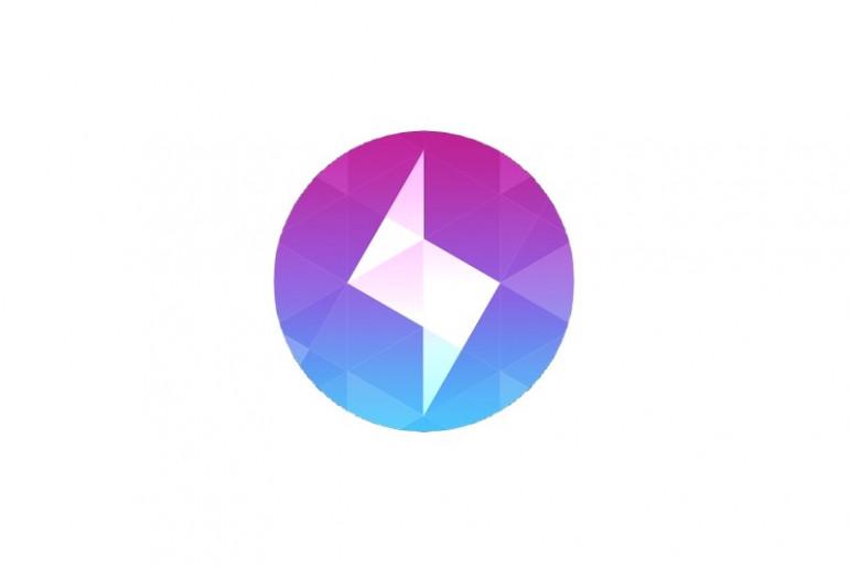 """Logo de l'application de photos éphémères """"Bolt"""" lancée fin juillet par """"Instagram"""""""