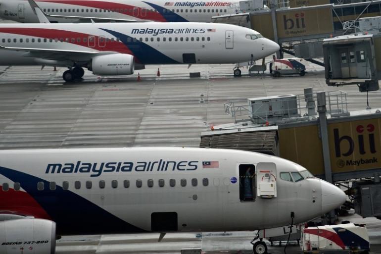 Des avions de la Malaysia Airlines sur le tarmac de l'aéroport de Kuala Lumpur (illustration)