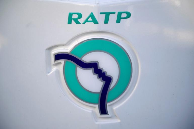 Le logo de la RATP photographié le 15 décembre 2012 (archives)