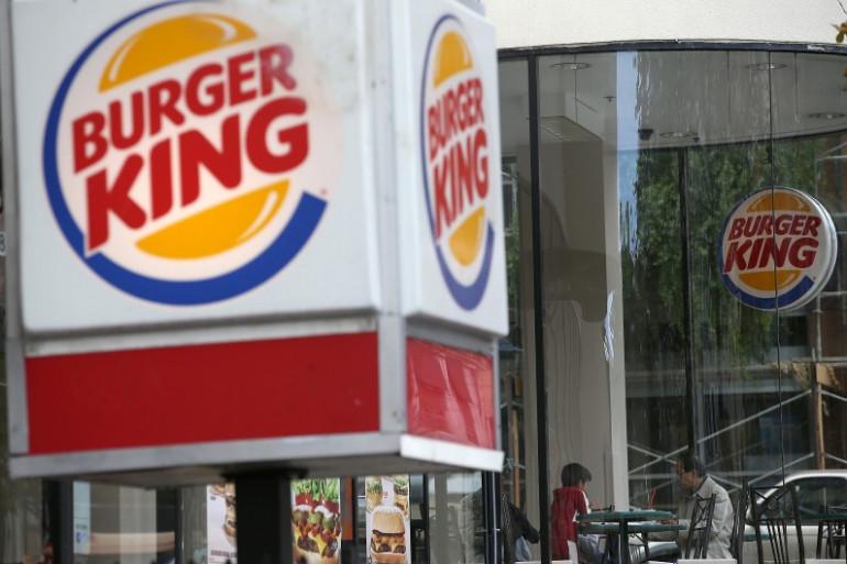 Une enseigne Burger King à San Francisco, le 1er août 2014 (image d'illustration)
