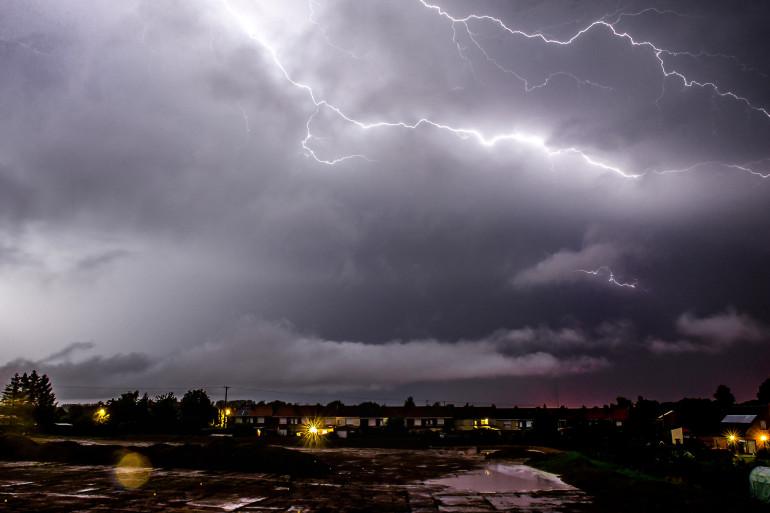 Des orages en France au mois de juillet 2014