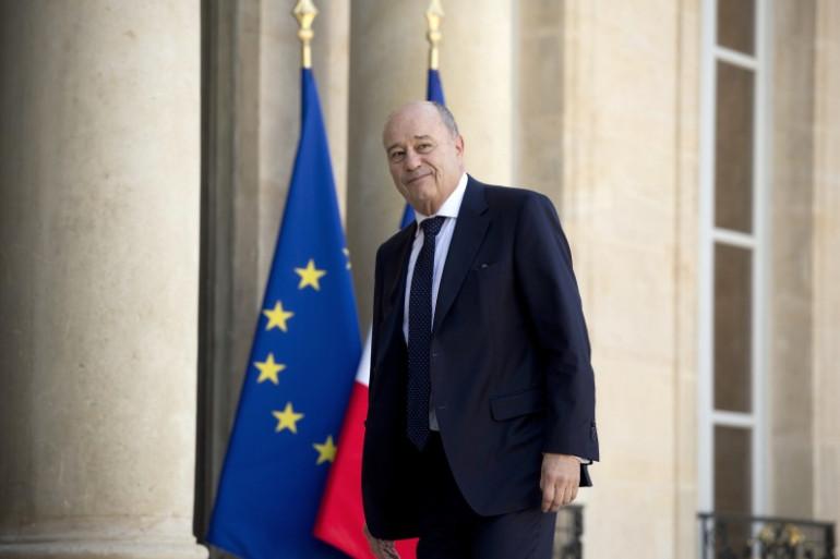 Jean-Michel Baylet à l'Élysée, le 15 mai 2014.
