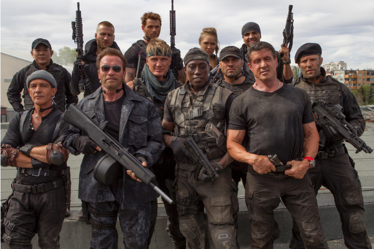"""Le casting complet de """"Expendables 3"""" au cinéma en France le 20 août"""