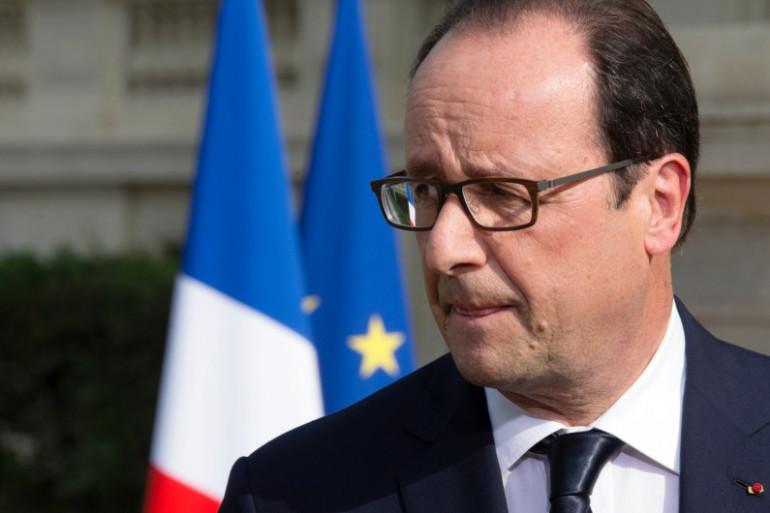 François Hollande à l'Élysée, le 26 juillet 2014.