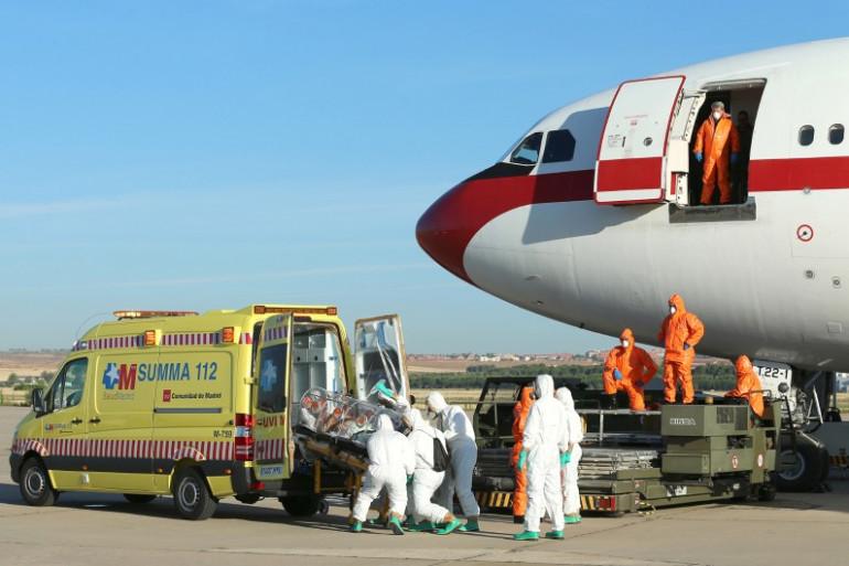 Le prêtre Miguel Pajares atteint d'Ebola, en Espagne le 7 août 2014