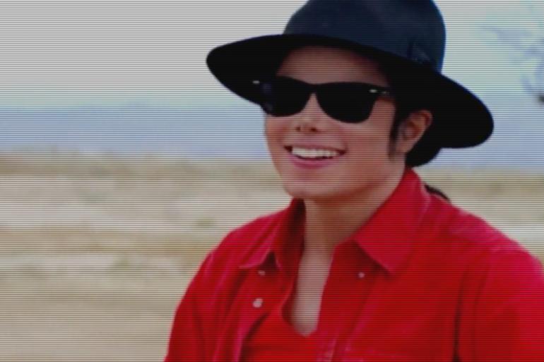 """Image extraite du clip de la chanson """"A Place With No Name"""" de Michael Jackson"""