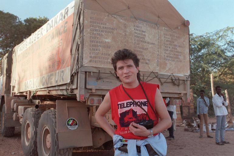 Le chanteur Daniel Balavoine est mort en janvier 1986 en margez du Paris-Dakar
