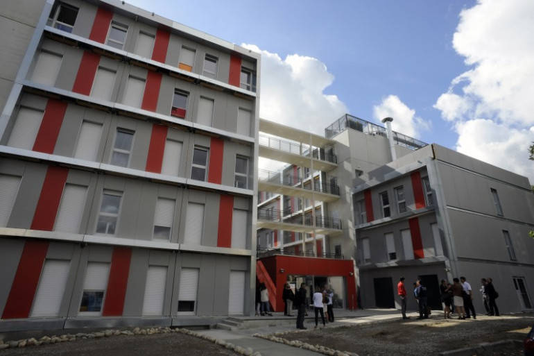 Des logements étudiants à Toulouse, en septembre 2013.