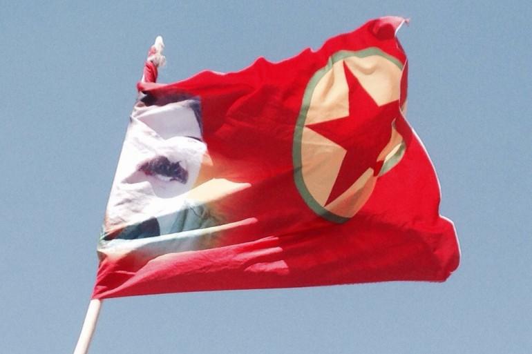 Le drapeau du PKK
