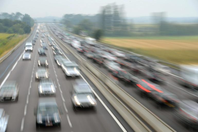 L'autoroute A7 entre Vienne et Valence, le 28 juillet 2012 (image d'illustration)