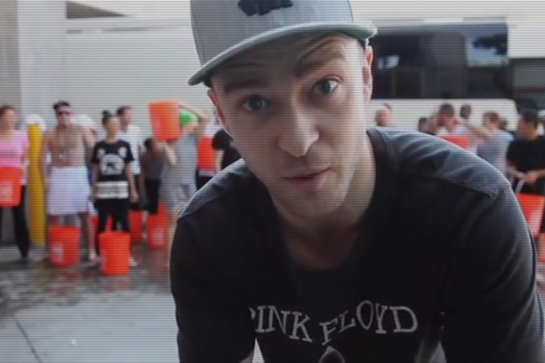 Justin Timberlake fait partie des stars à avoir relevé le Ice Bucket Challenge