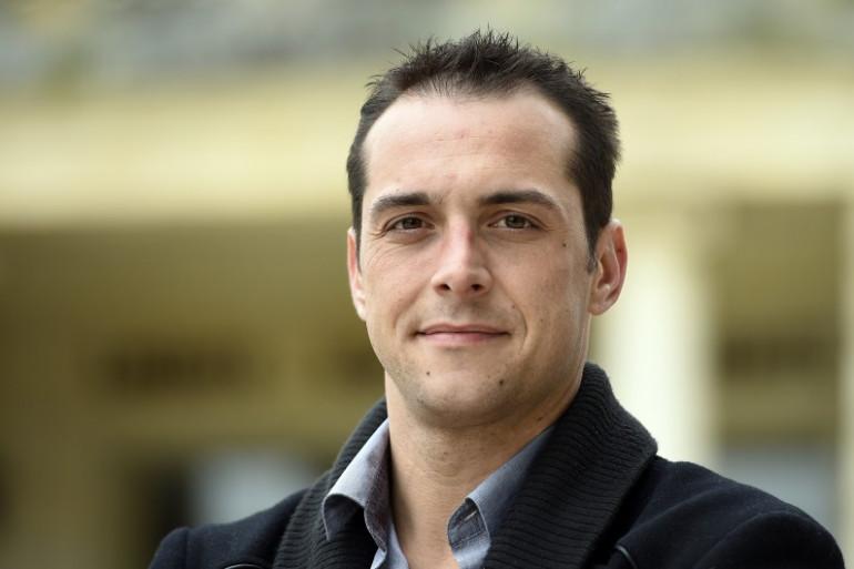 Joris Hebrard, le maire FN du Pontet, dans le Vaucluse, le 1er avril 2014