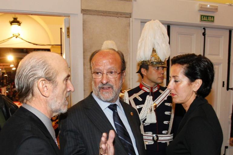 Javier Leon de la Riva (au centre) à Valladolid, le 23 octobre 2010.