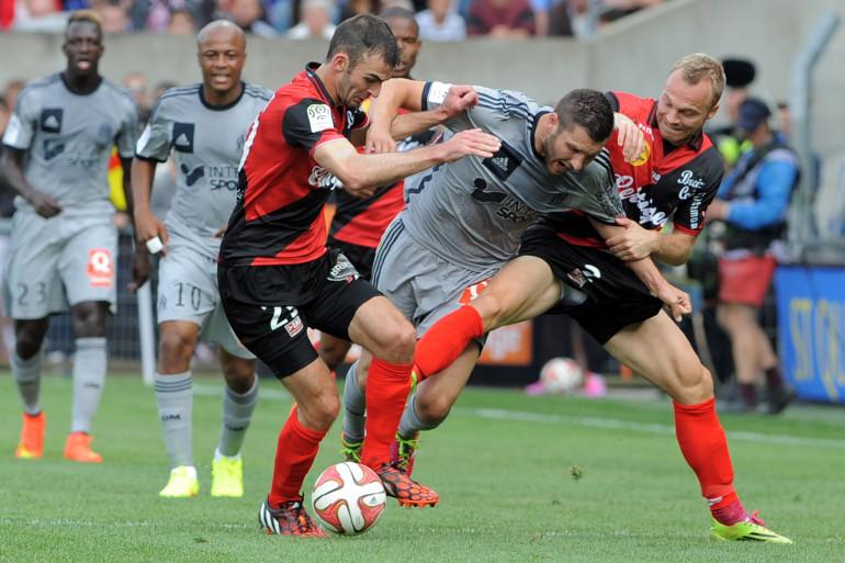 Le match Guingamp-Marseille du 23 août 2014