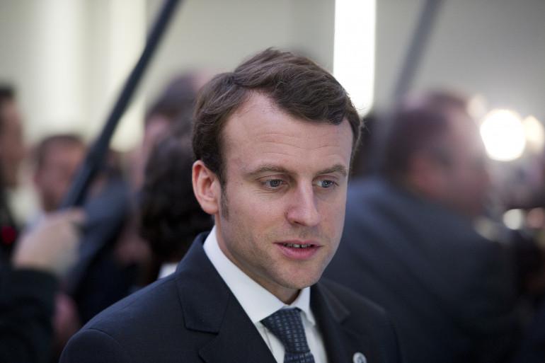 Emmanuel Macron, le 12 février 2014, à San Francisco. (archives)