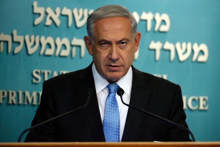 Le Premier ministre israélien Benjamin Netanyahu, le 27 août 2014.