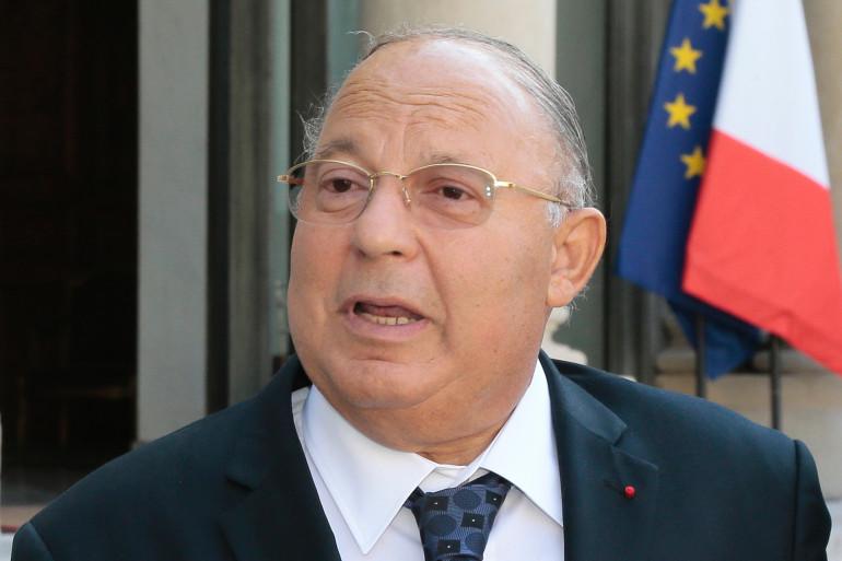 Dalil Boubakeur, recteur de la Grande moquée de Paris, le 28 juillet 2014