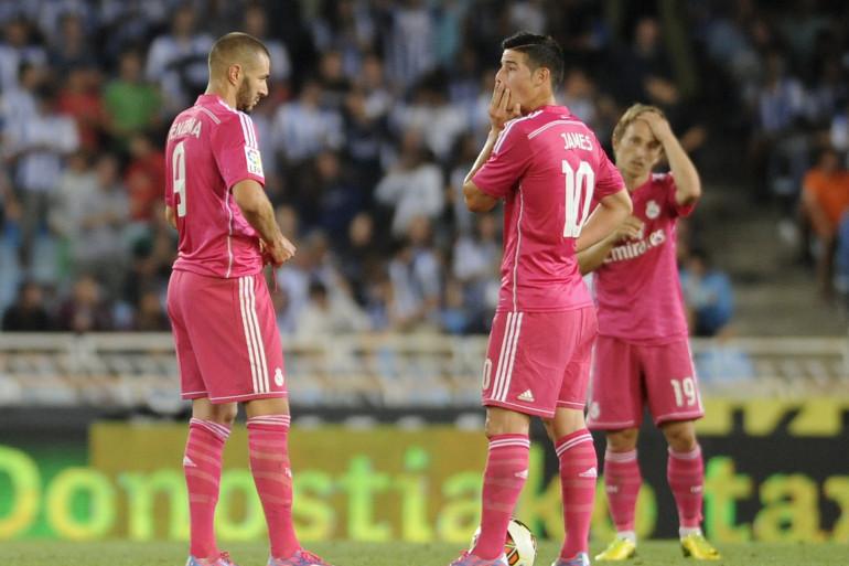 Le Real Madrid en déroute le 31 août 2014