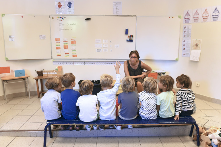 Une école marseillaise (illustration)