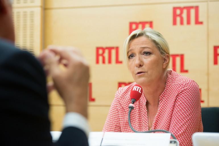Marine Le Pen, invitée de RTL, le 4 septembre 2014