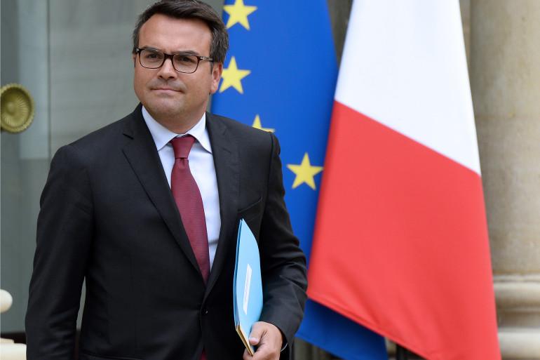 Thomas Thévenoud, le 27 août 2014, à L'Elysée. (archives)
