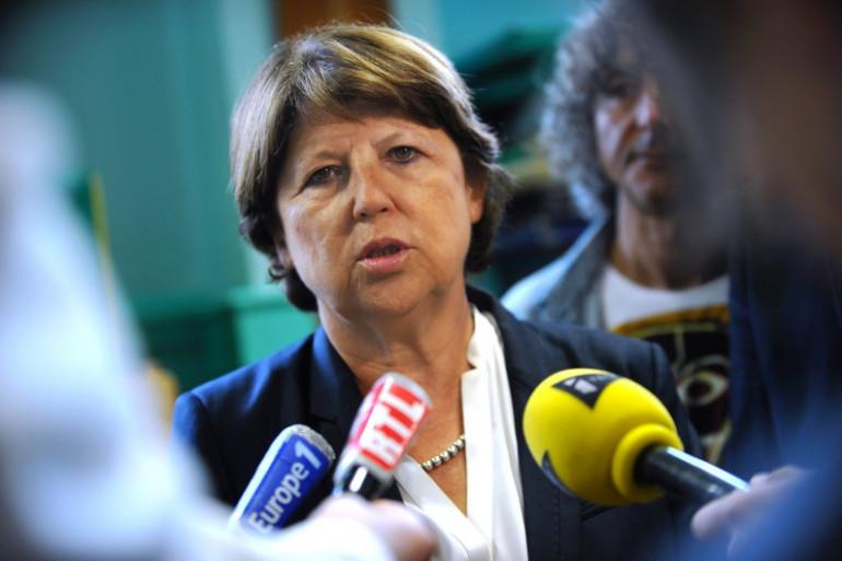 Martine Aubry, à Lille, le 2 septembre. (archives)
