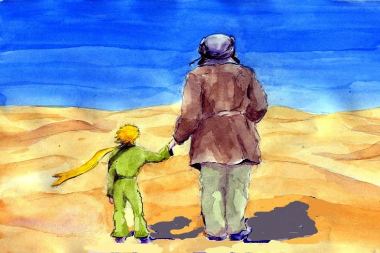 Le Petit Prince et Saint Exupéry