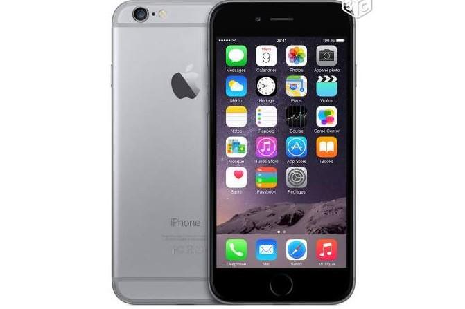 iPhone 6 gris sidéral 128 Go