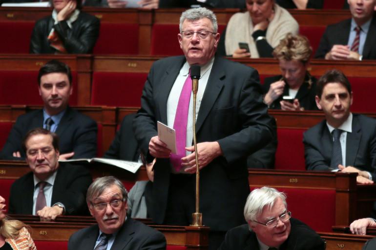 Le socialiste Christian Eckert, à l'Assemblée nationale le 26 février 2013.
