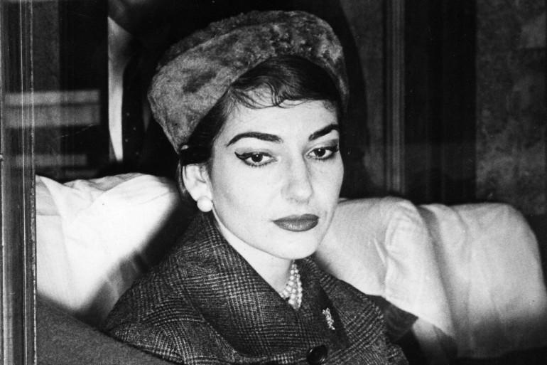Maria Callas, le 9 janvier 1958