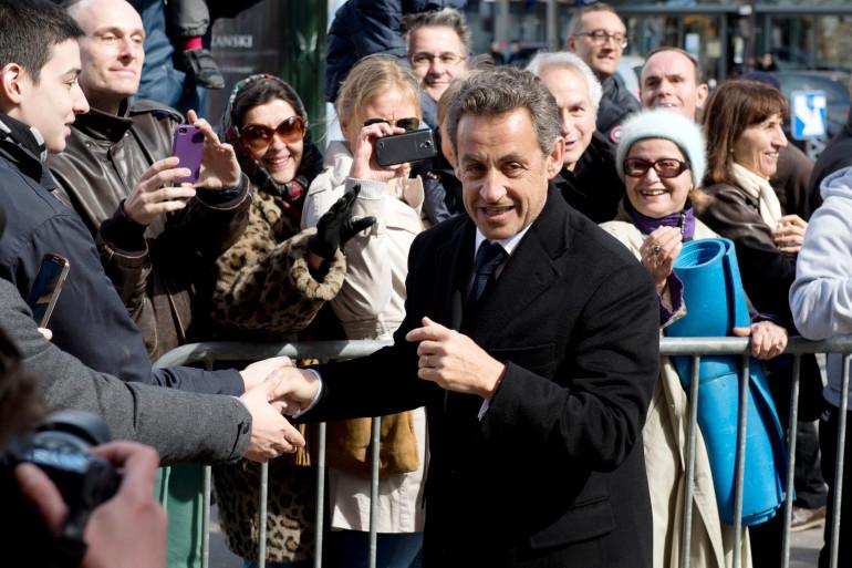 Nicolas Sarkozy, le 23 mars 2014