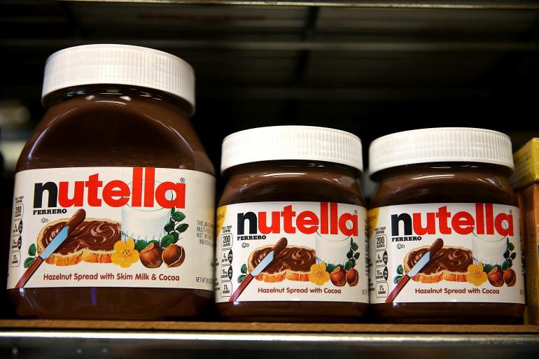 Des pots de Nutella dans un supermarché de San Francisco le 18 août 2014. (archives)