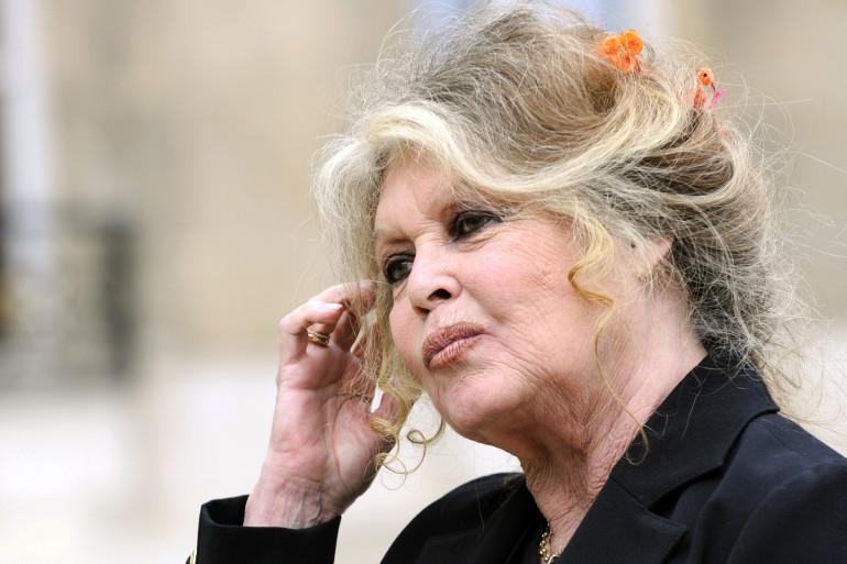 Brigitte Bardot le 27 septembre 2007 à Paris