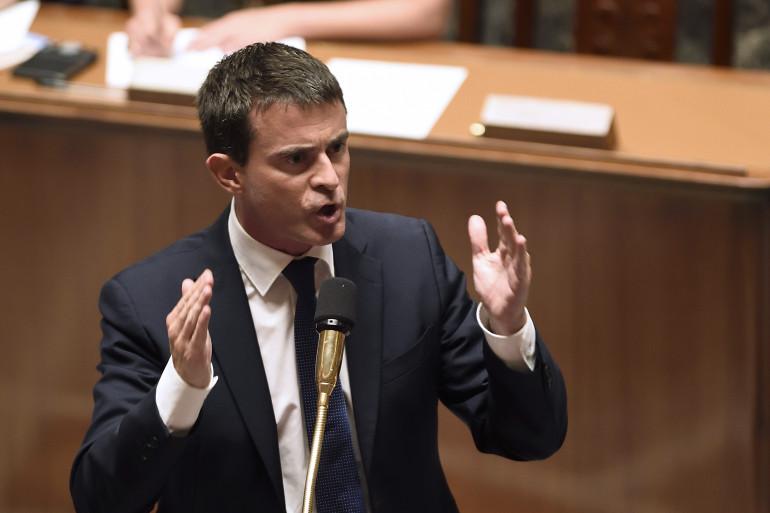 Manuel Valls à l'Assemblée nationale, le 16 septembre 2014.