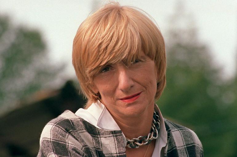 Françoise Sagan le 25 septembre 1987
