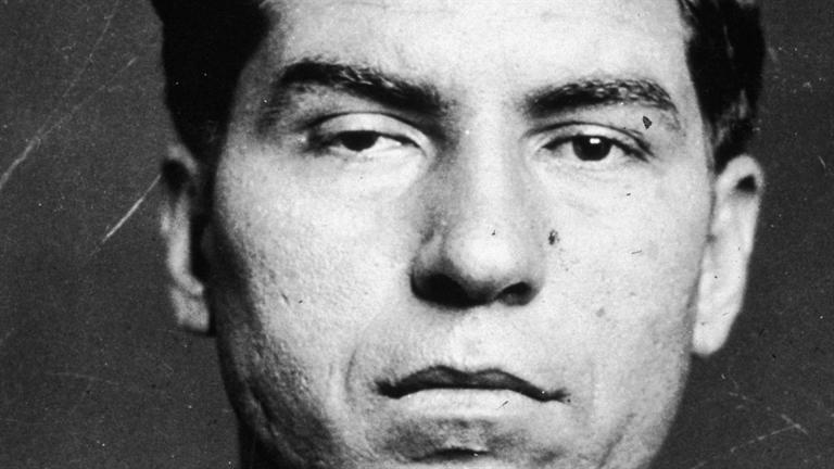 """Salvatore Lucania, dit """"Lucky Luciano"""""""