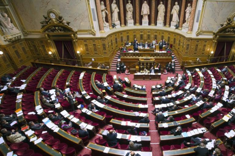 Vue du Sénat à Paris le 13 novembre 2012. (archives)