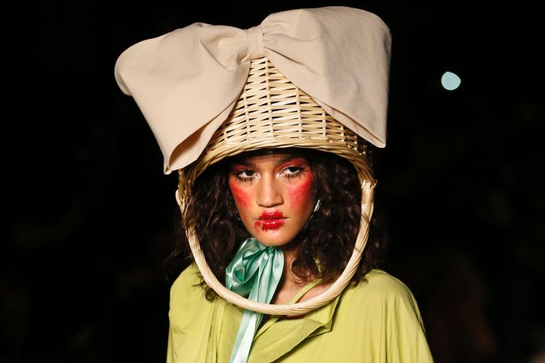 Le défilé Vivienne Westwood lors de la Fashion Week de Paris