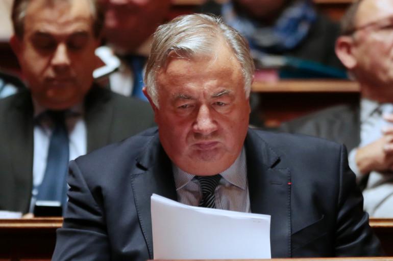 L'ancien président du Sénat Gérard Larcher